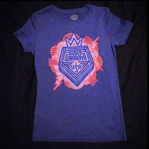 Blue Bud Light Whatever USA short sleeve T-Shirt